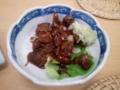 【2012/9/15】 とりモツ煮(まぁまぁ美味し)