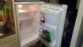 年末の冷蔵庫はからっぽ