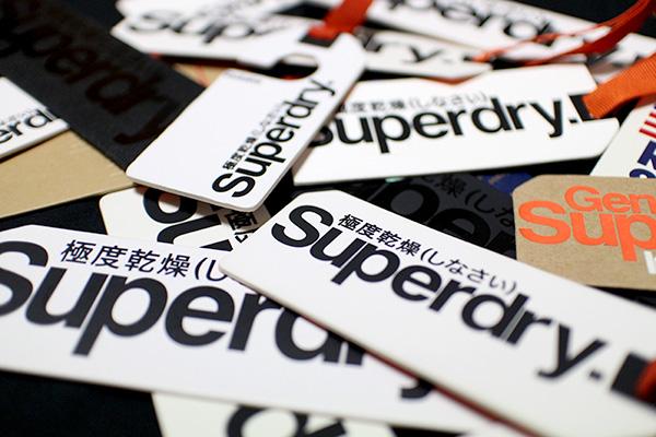 Superdryのタグ