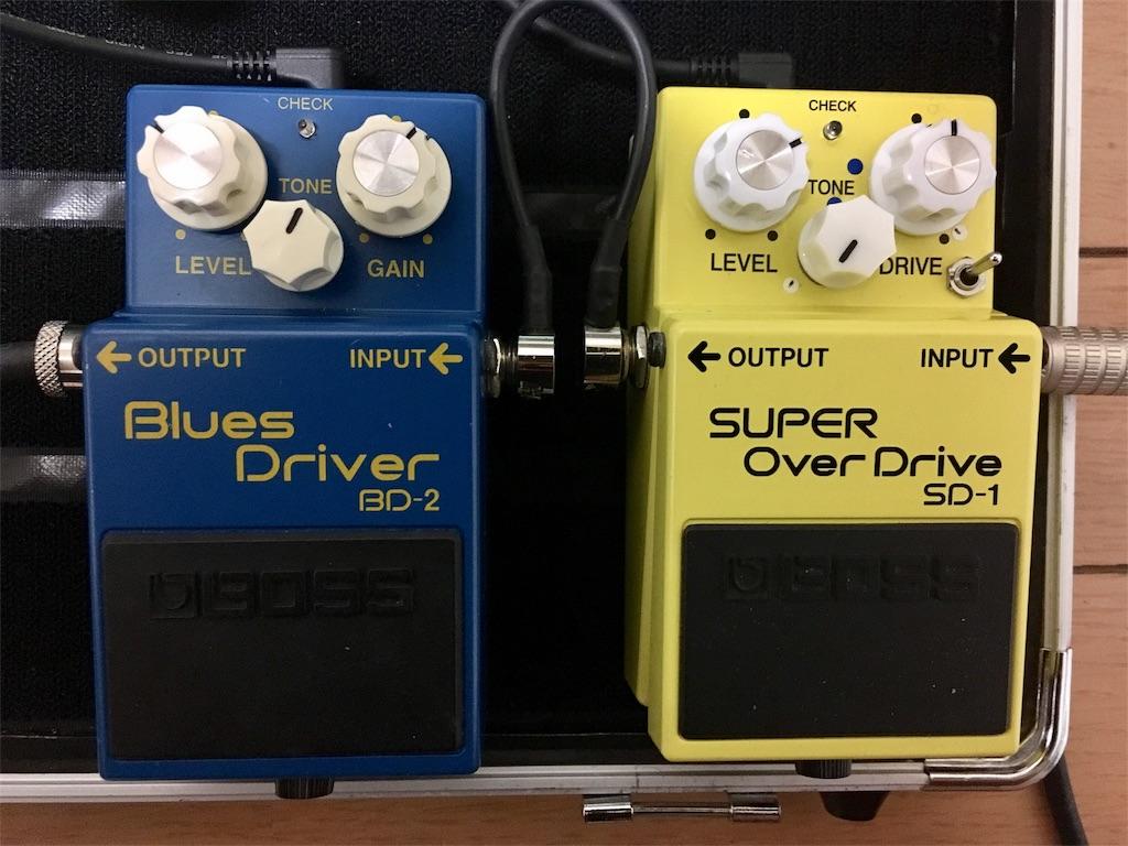 BOSS SD1とBOSS BD2