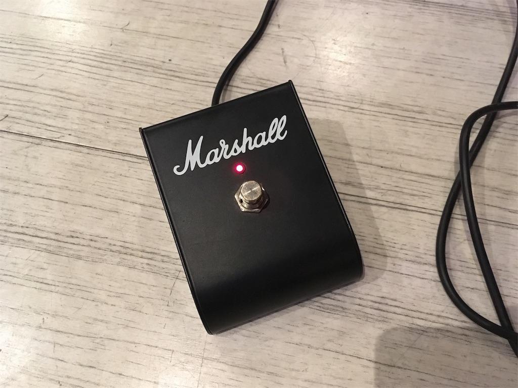 Marshall JCM 2000 フットスイッチ