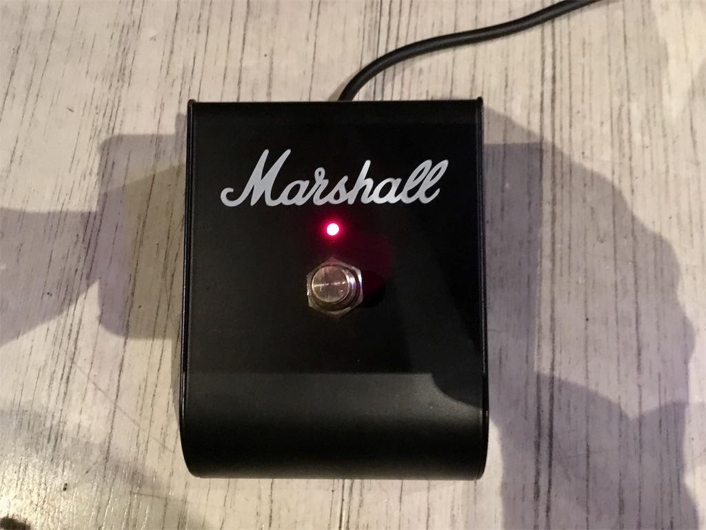 Marshall JCM 2000のクリーンチャンネル