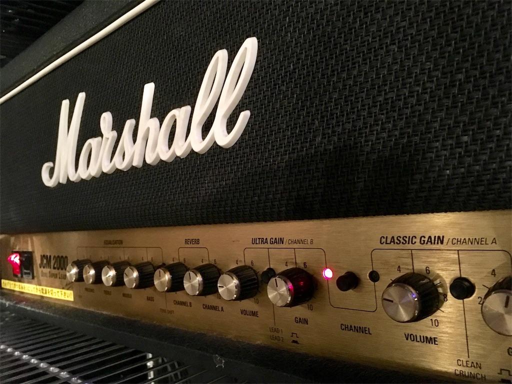 Marshall JCM 2000 リードチャンネル