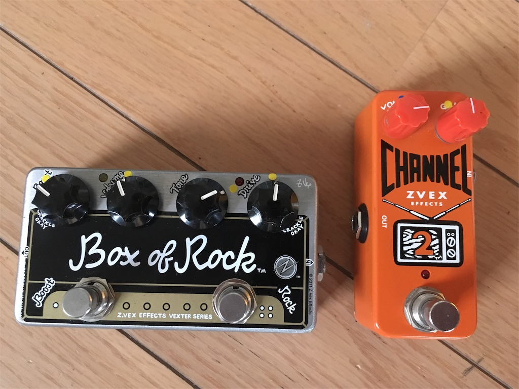 Box of RockとCHANNEL 2