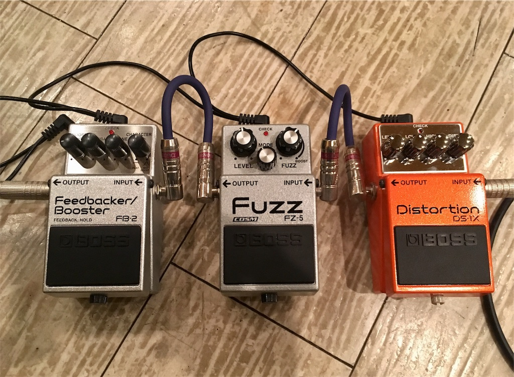 BOSS DS-1X,FZ-5,FB-2