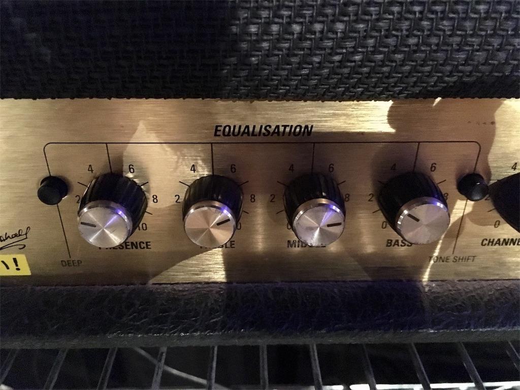 Marshall JCM 2000のメタル系イコラジング