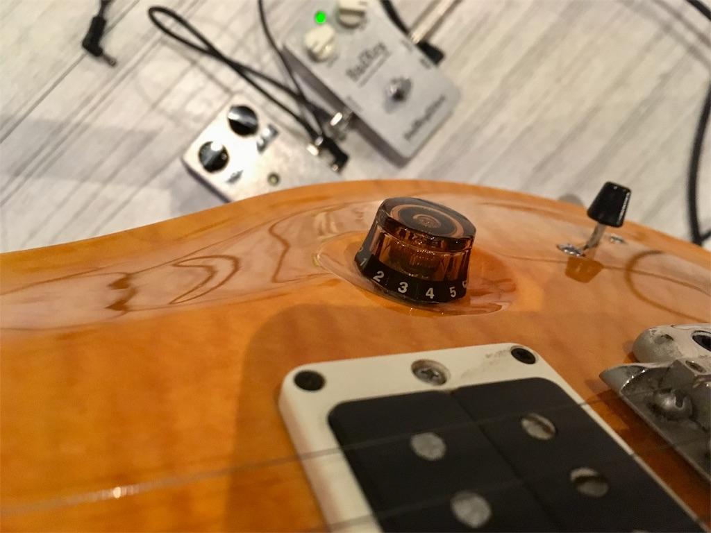 Badkey Driveとギターボリュームコントロール