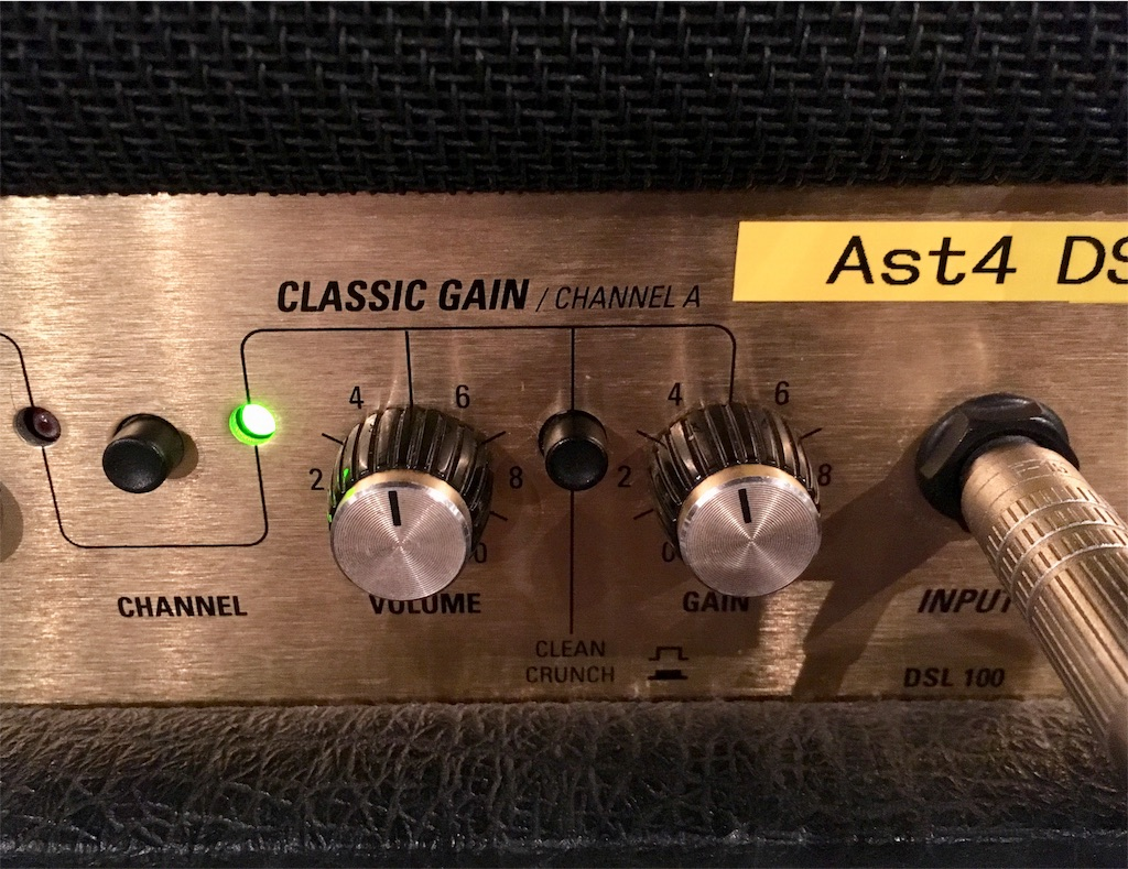 CLASSIC GAIN / CHANNEL A  CLEAN