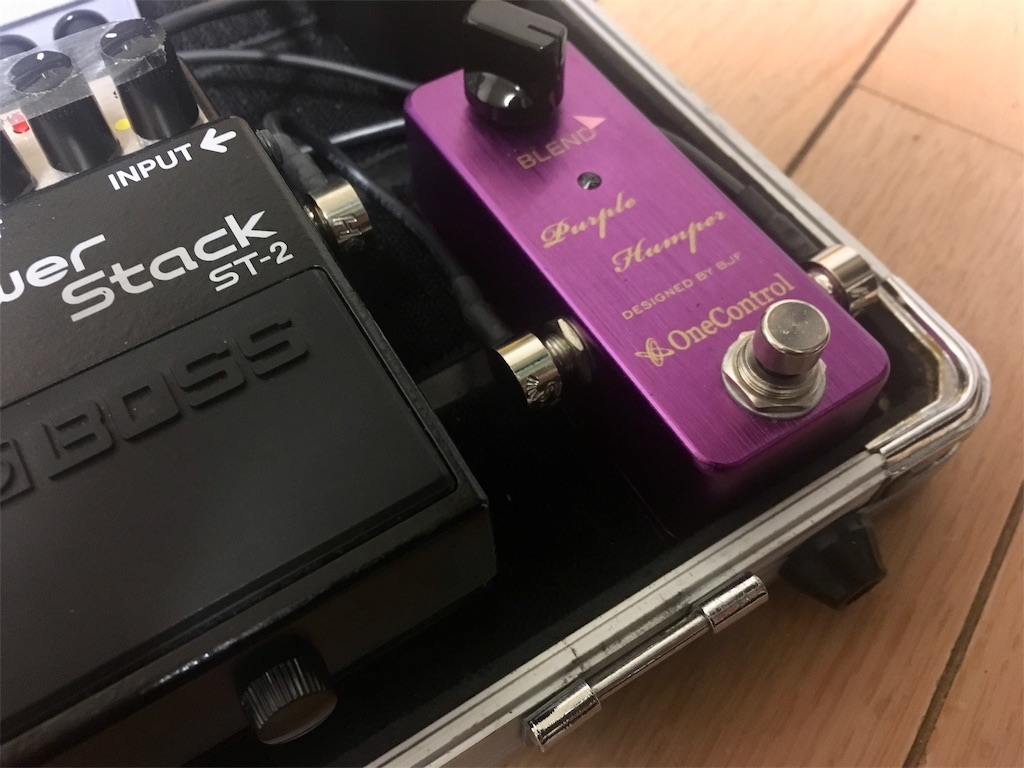 BOSS ST2とPurple Humperの画像