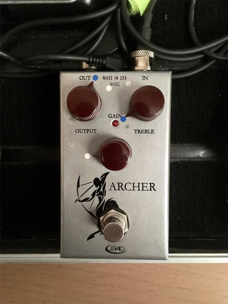 J.Rockett Audio Designs「ARCHER」のセッティング画像
