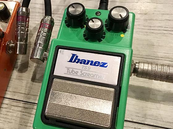 例えば、Ibanez「TS9」。