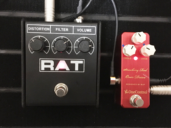 RAT2とStrawberry Red Over Drive