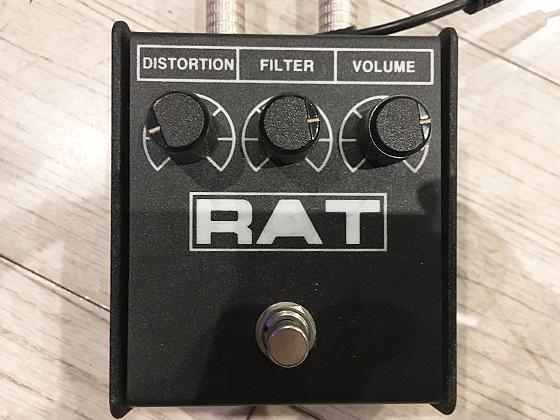 RAT2のレベルブースターセッティングの画像です
