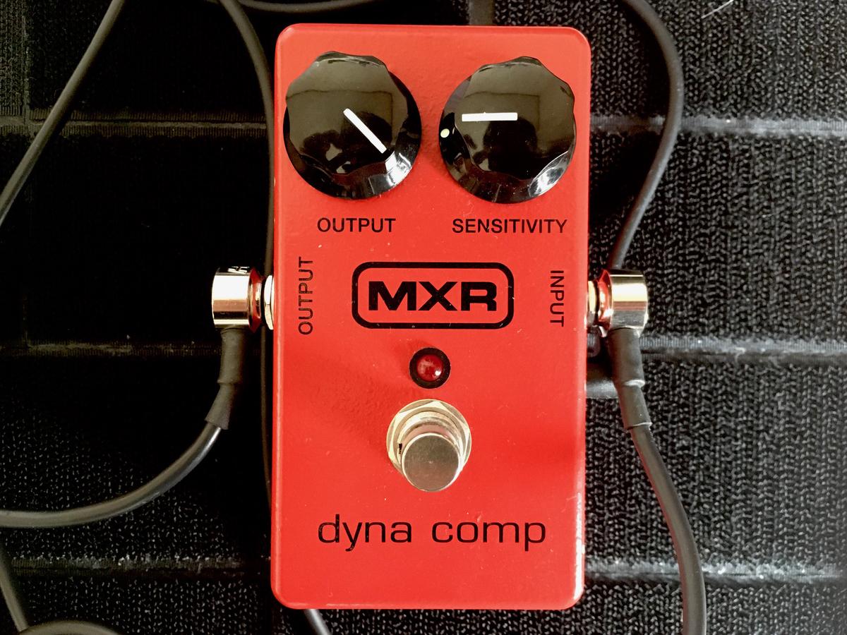 MXR Dyna Compセッティングの画像です。