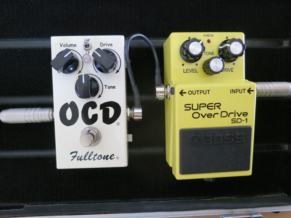 BOSS SD1+Fulltone OCDの画像です。