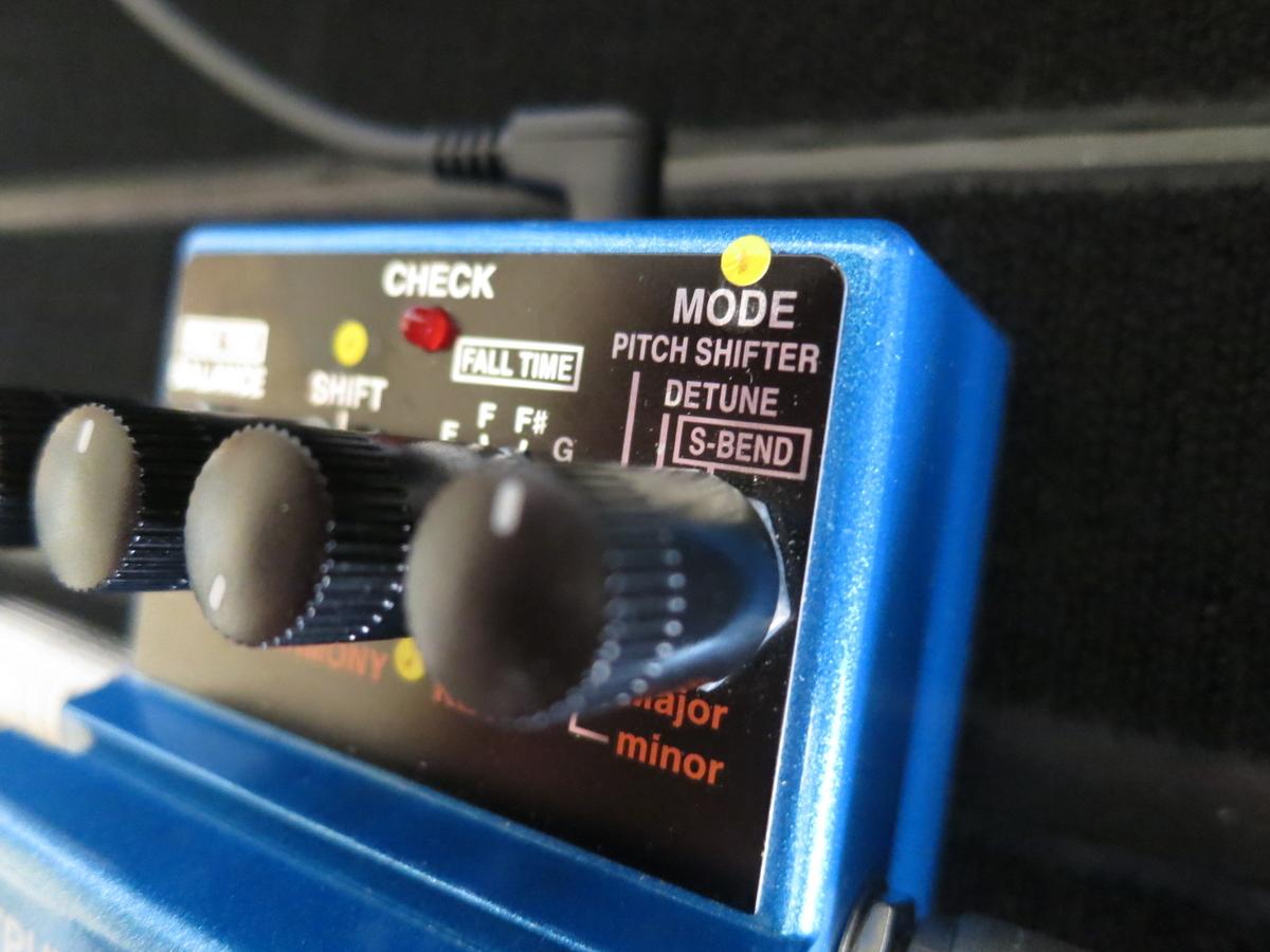 BOSS PS6(ハーモ二スト)のS-BENDの画像です。