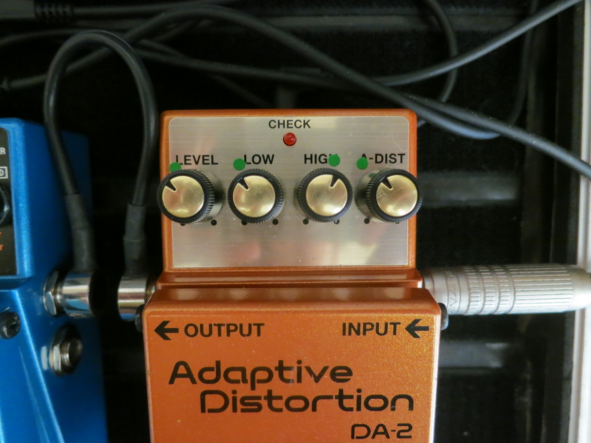 BOSS DA2(Adaptive Distortion)の画像です。