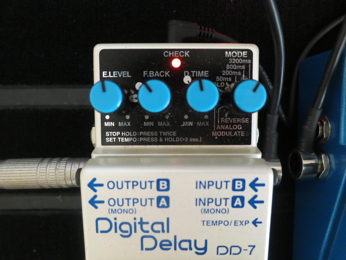 BOSS DD7(Digital Delay)の画像です。
