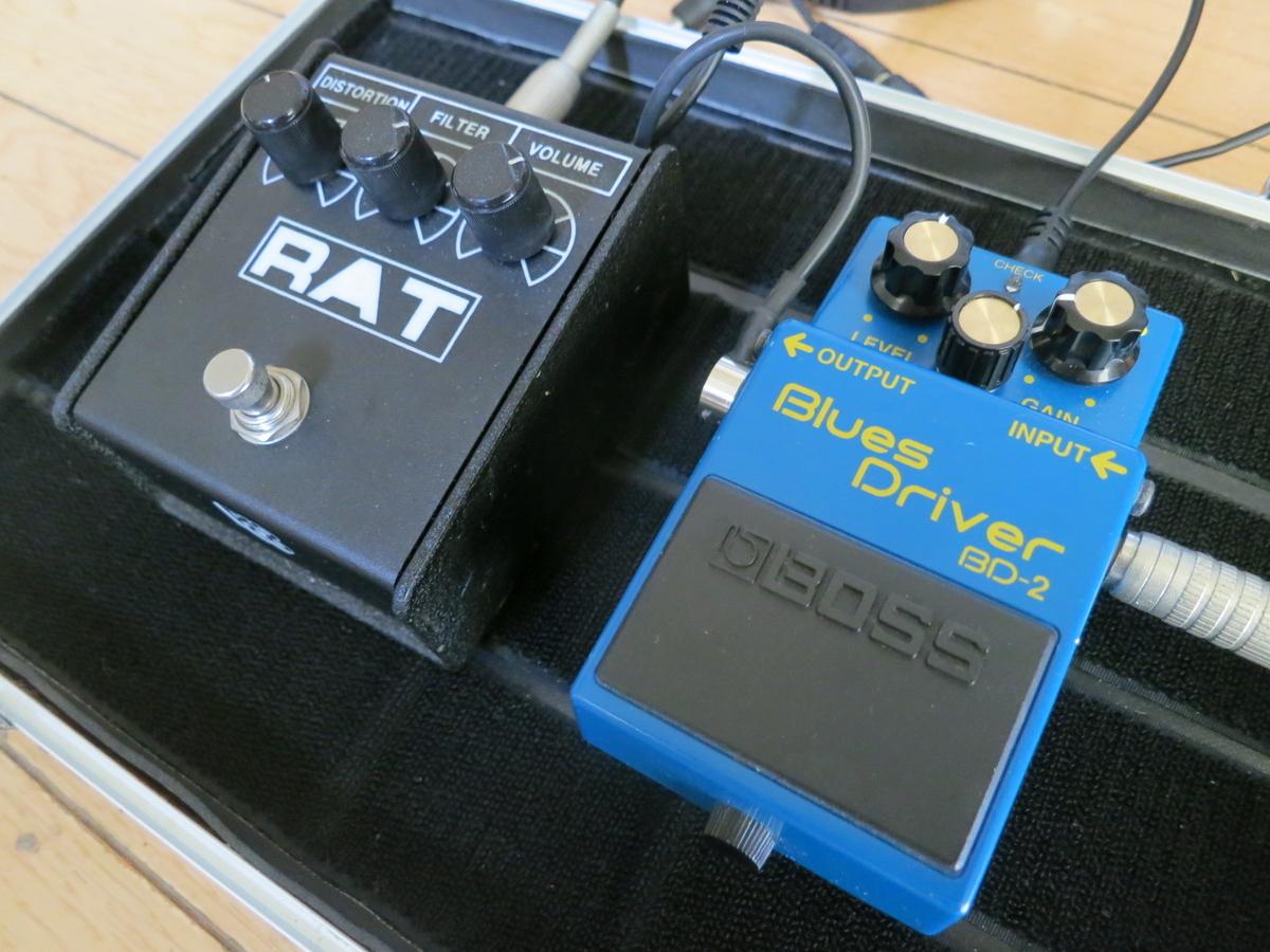 BD2(ブルースドライバー)とRAT2の画像です。