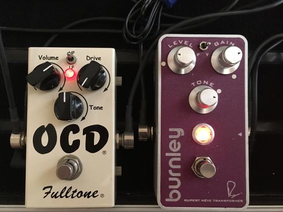ディストーション+Fulltone OCD
