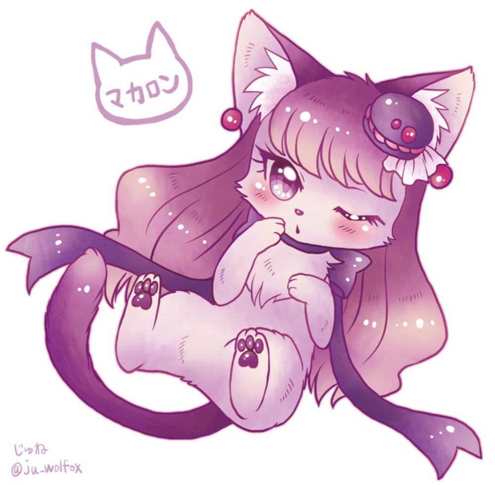 キラキラ☆プリキュアアラモードの猫化キュアマカロン、ゆかり