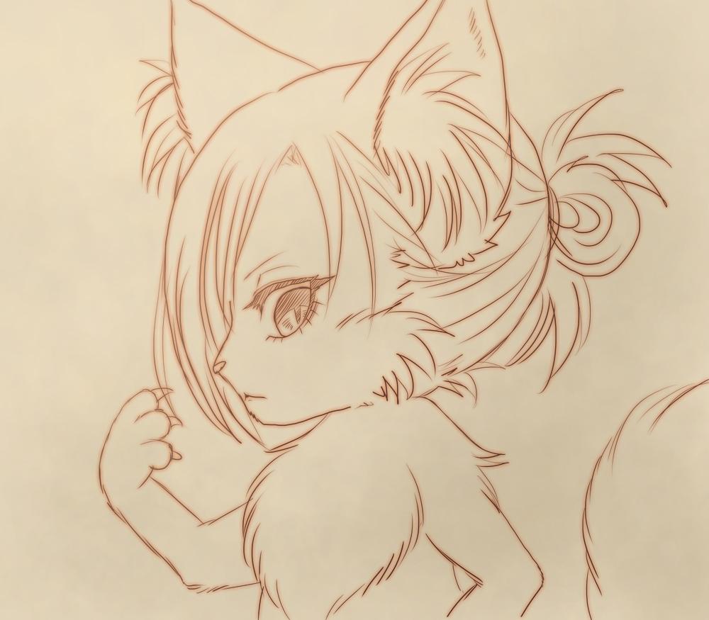 進撃の巨人の猫化アニちゃん