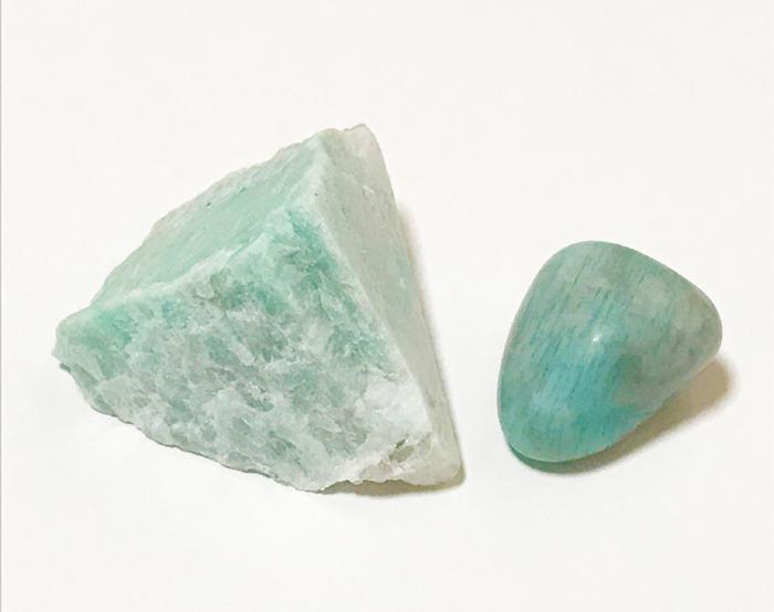 アマゾナイトの鉱物天然石パワーストーン