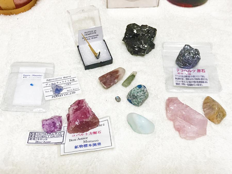 ミネラルザワールド横浜で買った宝石鉱物