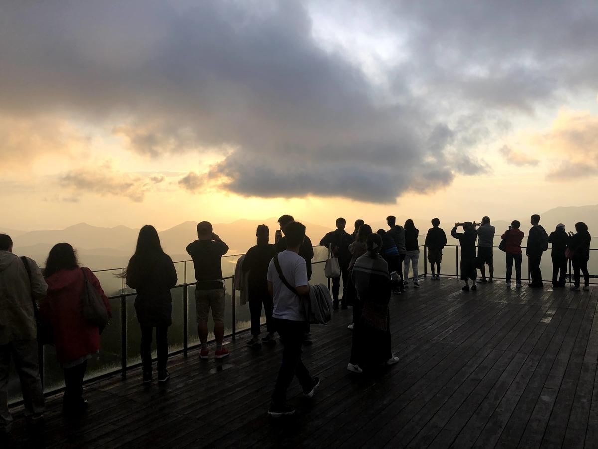 雲海テラスの屋上