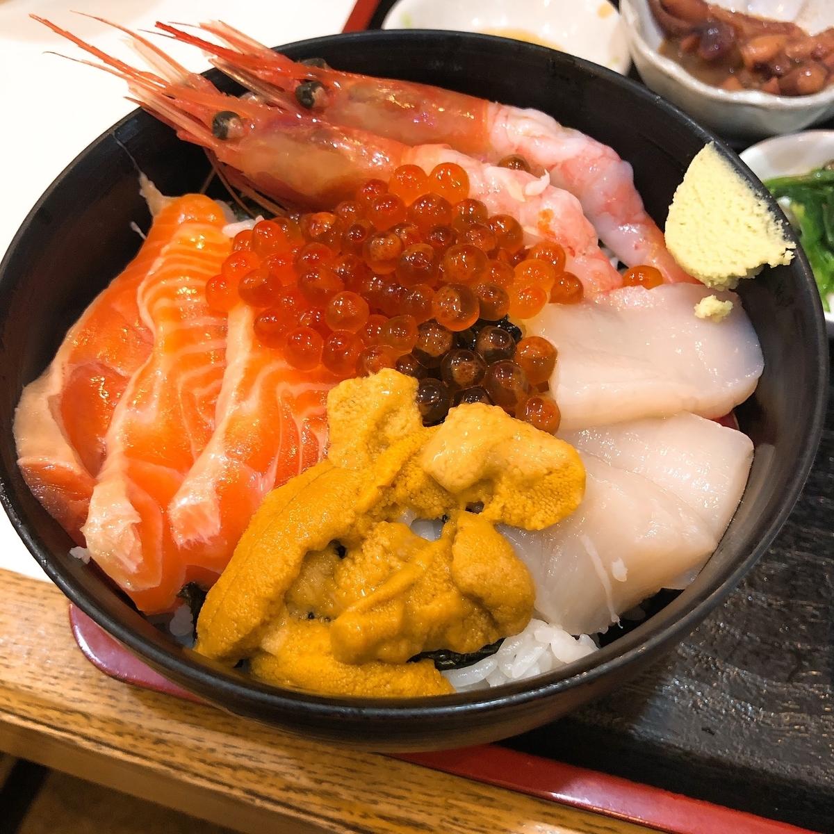 函館茶夢海鮮丼