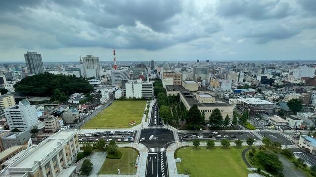 栃木県庁展望階