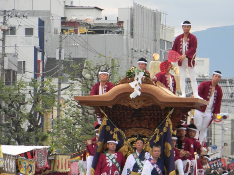 平成30年度岸和田だんじり祭り