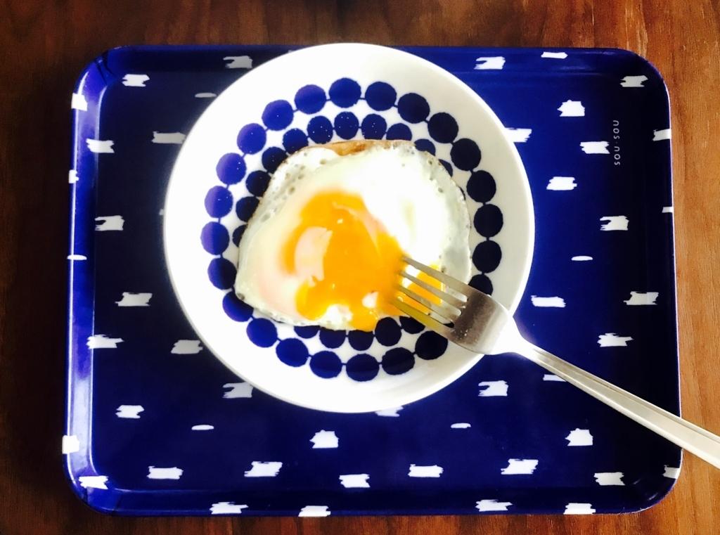 目玉焼(伊丹十三『目玉焼の正しい食べ方』)