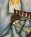 夜はわたしの寝床と枕が涙でぐっしょり濡れます 詩編6:6