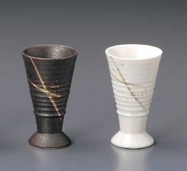 ペア陶器カップ