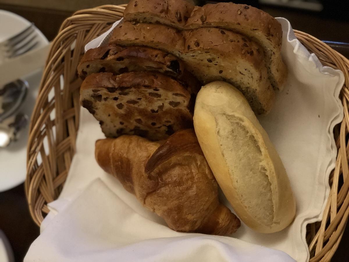 バスケットのパン