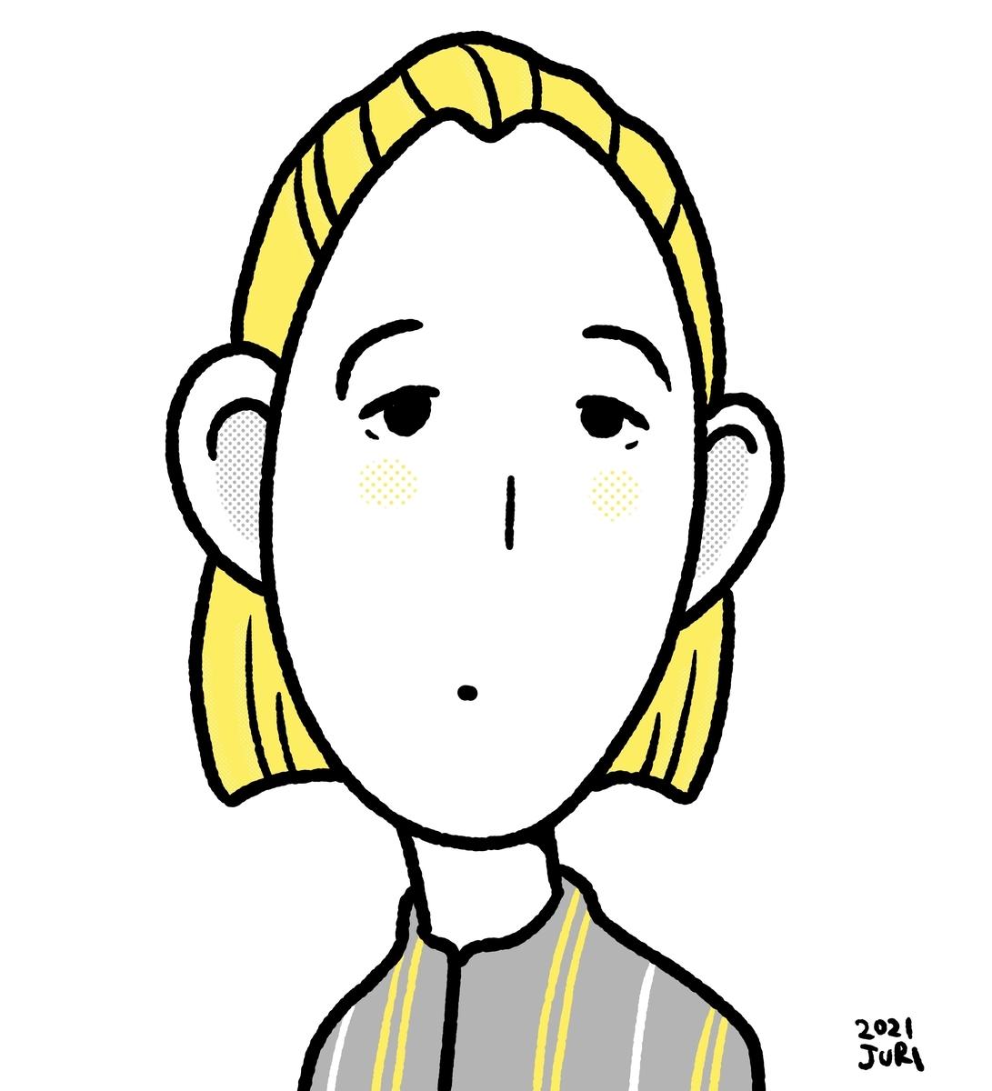 江口のりこの似顔絵 北海道札幌の似顔絵作家高井じゅり 似顔絵ファクトリー