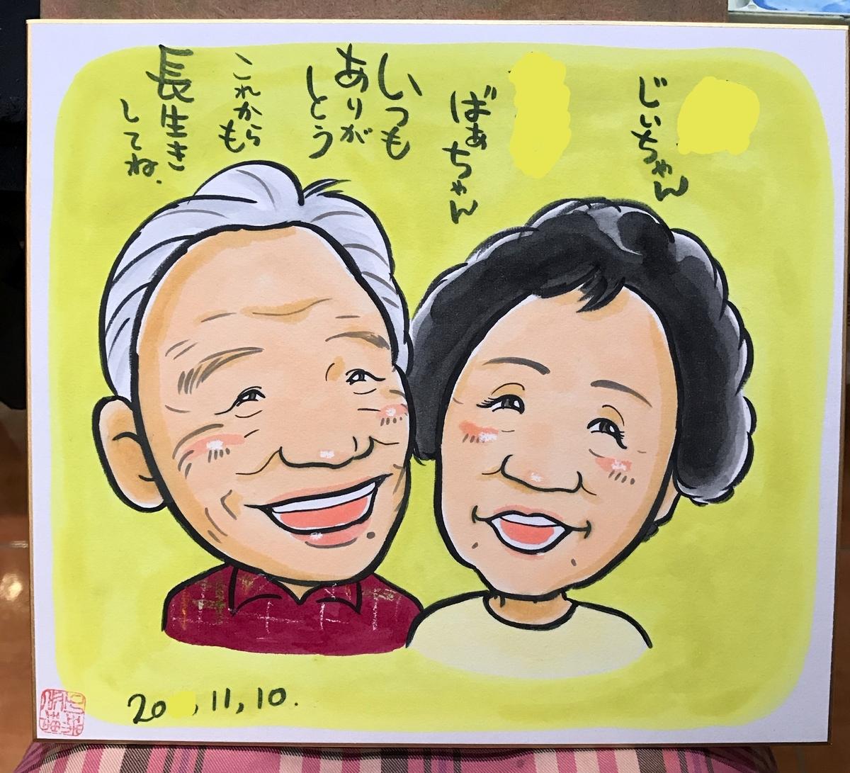 似顔絵 北海道札幌の似顔絵作家高井じゅり 似顔絵ファクトリー