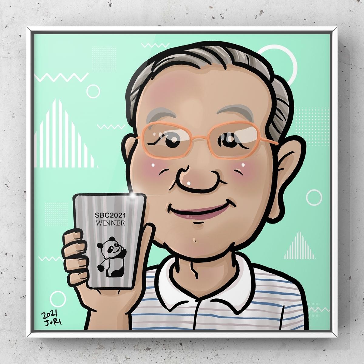 似顔絵、北海道札幌の似顔絵作家高井じゅり、似顔絵ファクトリー