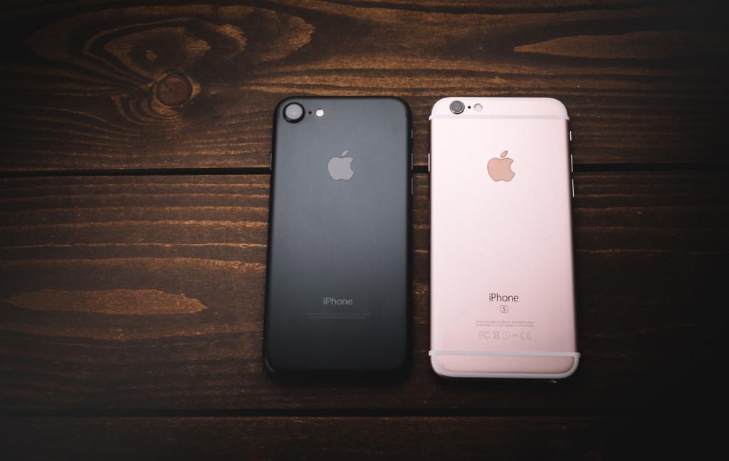 新旧iphone5
