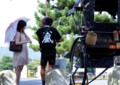 京都新聞写真コンテスト 夏の商談