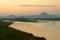野洲川の夜明け
