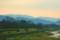 鴨川の夜明け