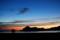 夜明けの浜辺