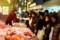 歳末錦市場の風景