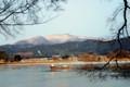 広沢街道冬景色