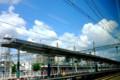 京都新聞写真コンテスト 特急から去りし夏