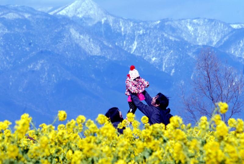 京都新聞写真コンテスト 幸せ家族