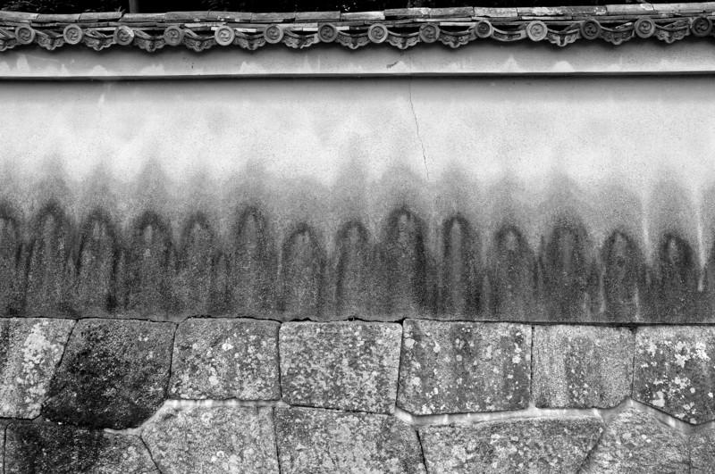 京都新聞写真コンテスト 雨だれ地蔵