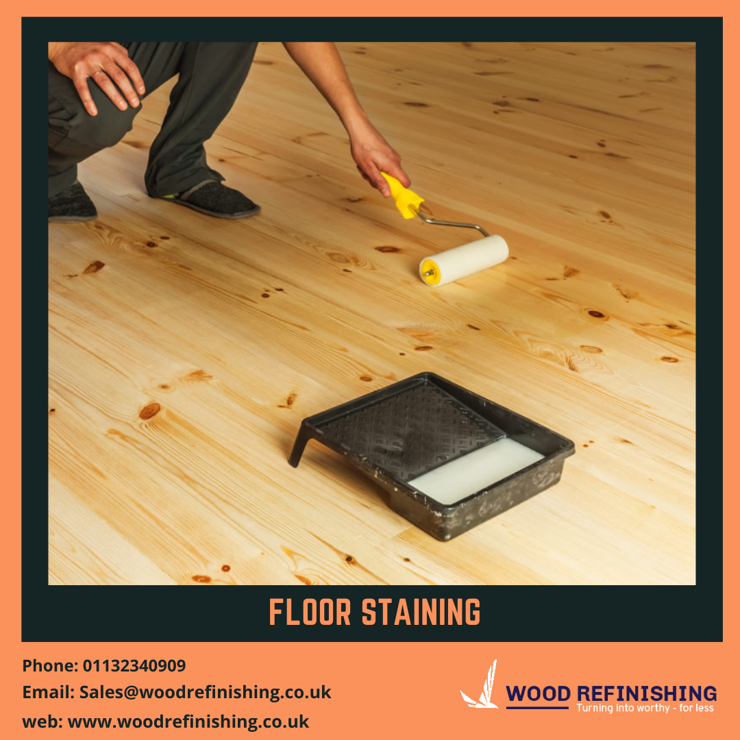 Floor staining services leeds